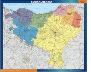 euskal herria mapa