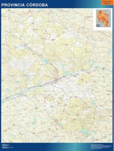 Cordoba mapa carreteras