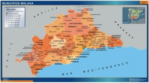 malaga municipios