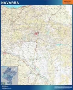 navarra mapa carreteras