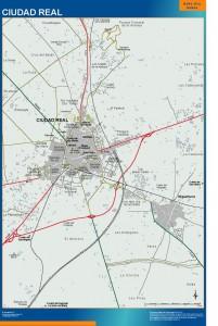 mapa Ciudad Real accesos