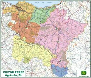 mapa area ventas