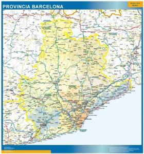mapa carreteras barcelona provincia